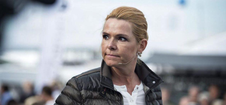 La ministre danoise Stojberg