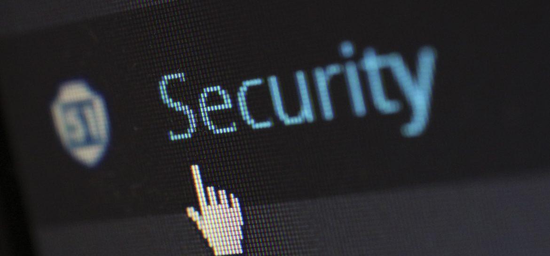 onglet sécurité d'un site web